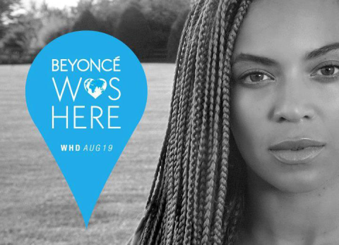 Beyonce I WAS HERE