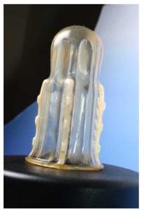 Female Condom with teeth - image courtesy Rape Axe, http://www.antirape.co.za/