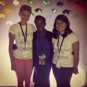 Girls' Globe Founder, Julia Wiklander, Emmanuella, Girls' Globe Blogger, Diane Fender