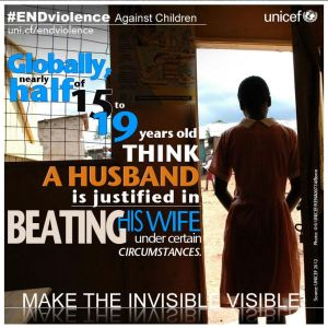 Photo courtesy of UNICEF's End Violence Against Children campaign