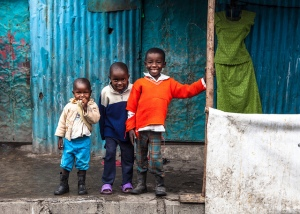 Children in Kenya. Image Courtesy: Kent Yoshimura on Flickr