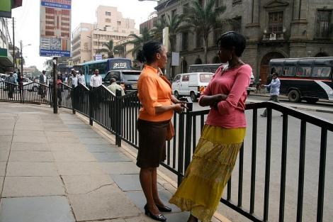 Women in Nairobi. Image Courtesy: Tom Spender on Flickr