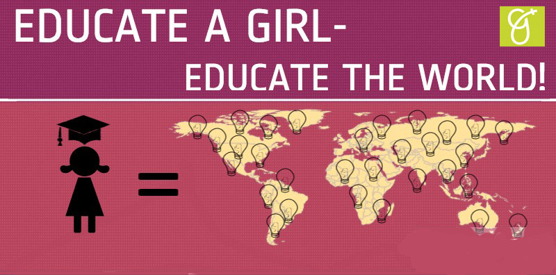 EDUCATE A GIRL kopio