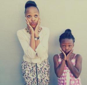 Sisters Lien and Hahobejwalo Thipa. Photographer: Monica Thipa