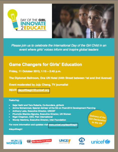 Game Changers invite