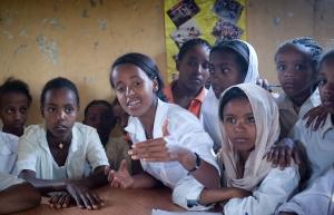 Life-skills class, Ethiopia © Mark Tuschman/Planned Parenthood Global