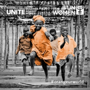 Orange Your World in 16 days - Image courtesy of UN Women