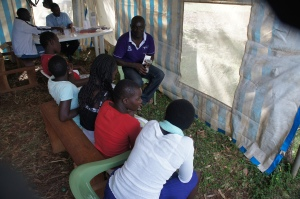 Women participating in family planning education. Photo Cred: Lwala Community Alliance