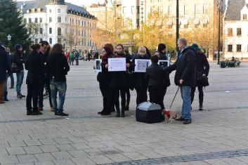 Flashmob in Malmö