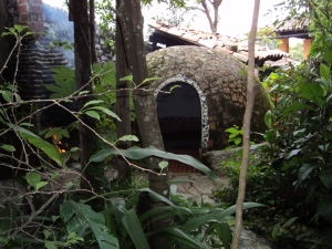 A Temazcal in Mexico. Photo by author.