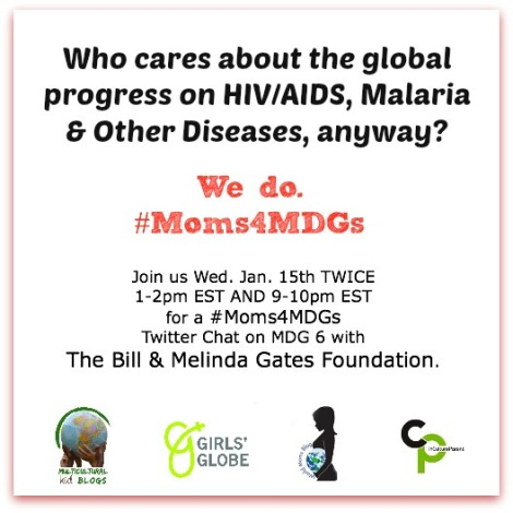 #Moms4MDGs Jan 15 Twitter Parties MDG6 (1)