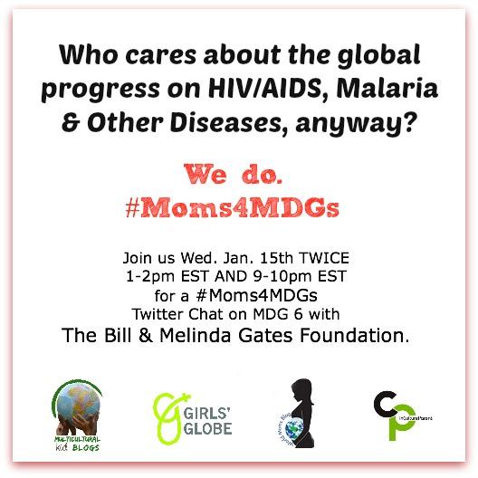 #Moms4MDGs Jan 15 Twitter Parties MDG6 (1)