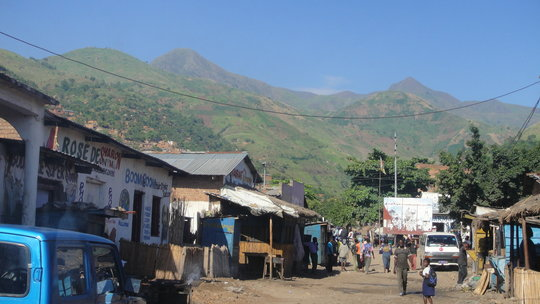Town of Uvira, Democratic Republic of the Congo. Home base of the Association of Christian Mothers for Assistance to Vulnerable (AMCAV)