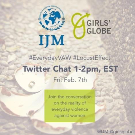 GG IJM Twitter Chat
