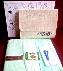 A clean birth kit.