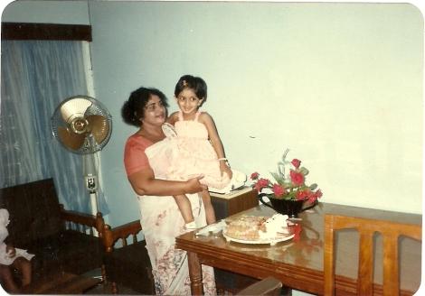 Valerie & her Grandmother