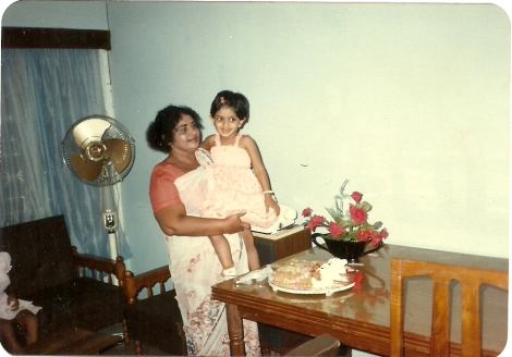 Valerie & her Grandmother