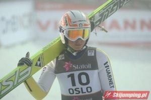 Italian ski jumper Roberta D'Agostina at the 2011 FIS Nordic World Ski Championships in Oslo. Photo c/o Wikimedia Commons