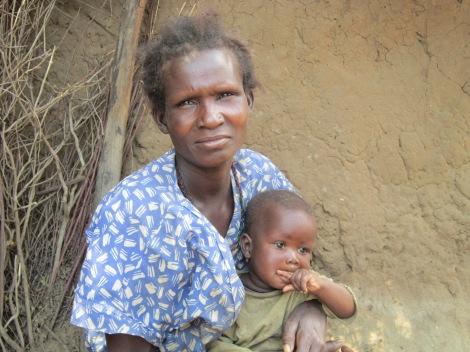 woman and child in karamoja