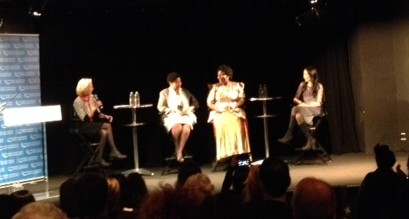 Panelists. Photo Credit: Liz Fortier