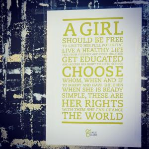 The Girls' Globe value statement