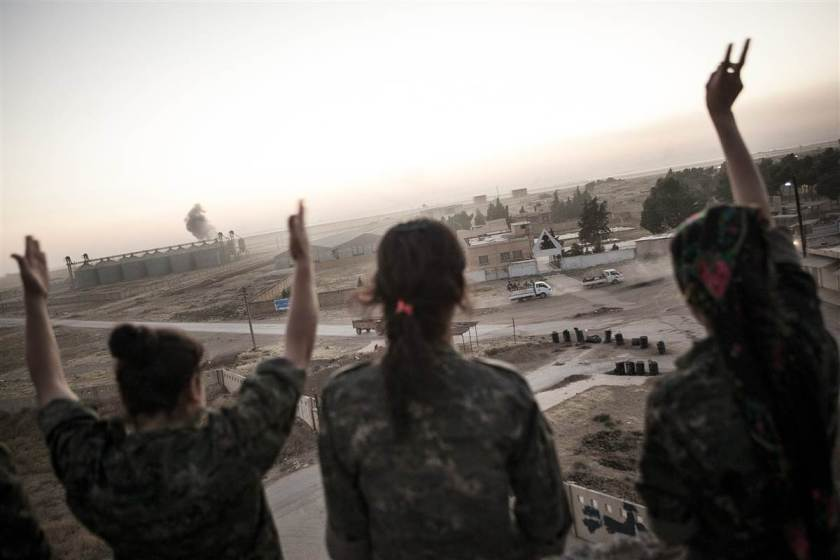 Women's Protection Unit, a 7,000-strong Kurdish military group.