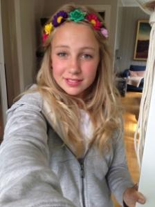 Thea, Plan Norway's 12 year old bride Photo Credit: Plan Norway