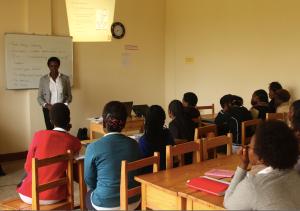 Akilah student telling story of self. Photo Credit: Resonate