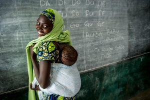 Nigerian mother and child