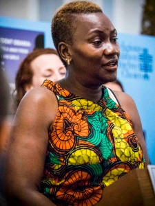 Jaqueline Mutere, founder of Grace Agenda in Kenya, shares her powerful story of surviving rape and highlights the importance of access to safe abortion as part of comprehensive post-rape care. Photo Credit: CHANGE