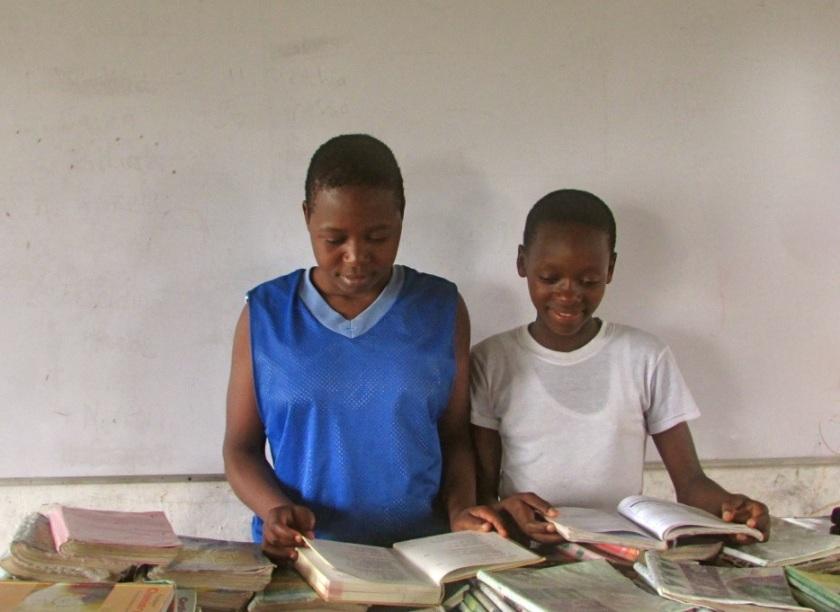 Girls Reading - Bullard
