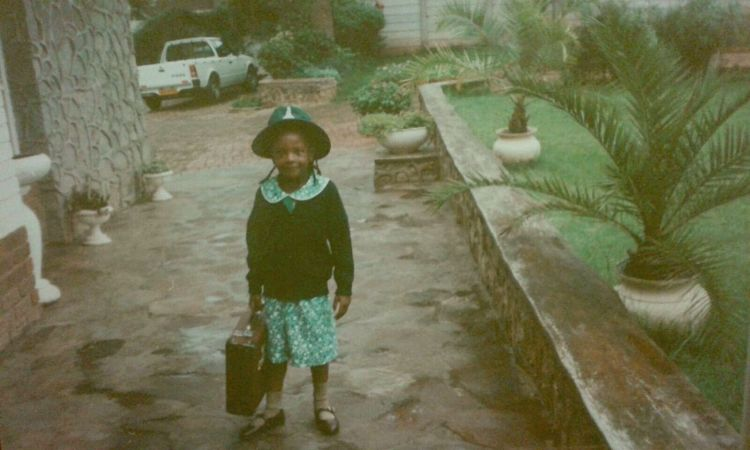 Author as a child. Photo Credit: GUIU