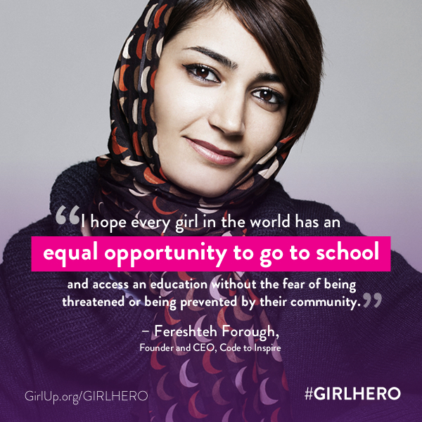 #Girl Hero Quote-Fereshteh Forough