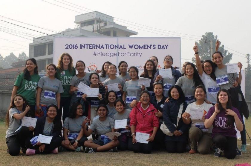 WOMEN lead Day